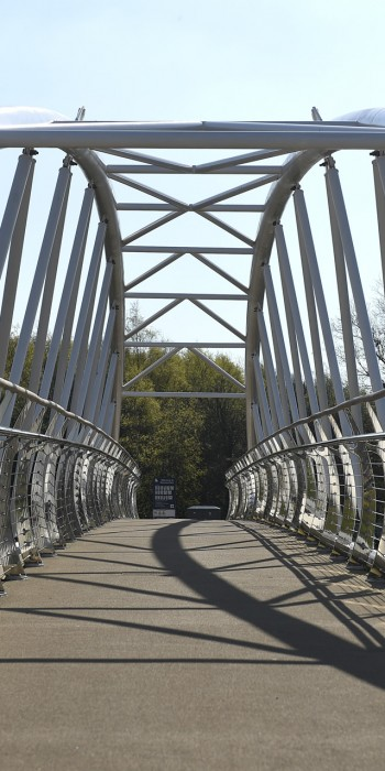 New Bridge on Connswater Greenway