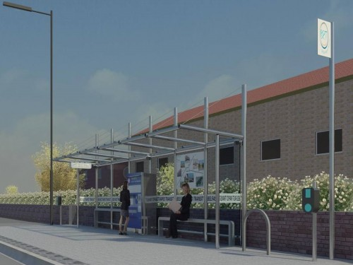 Belfast Rapid Transport - Halt