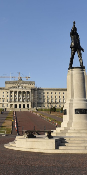 Stormont: Parliament Buildings and Statue