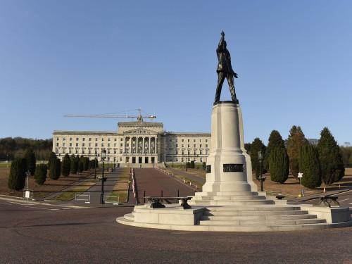Stormont: Parliament Buildings and Statue