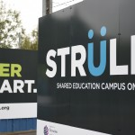 Entrance Strule Shared Education Campus (Picture: Michael Cooper)