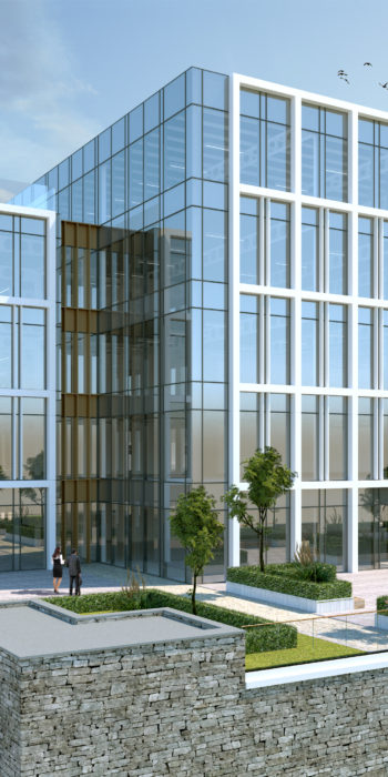 Ebrington Grade A Office Building CGI