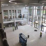 South Lake Leisure Centre interior build