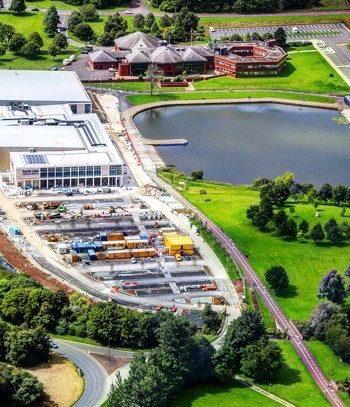 South Lake Lesiure Centre Aerial image