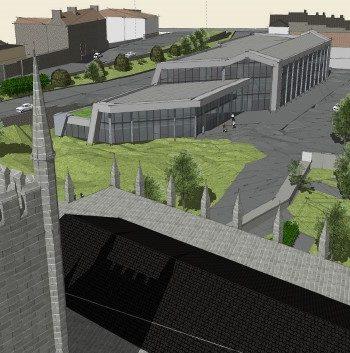 CCR Civic Hub Newry