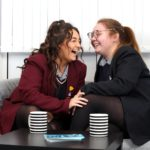 Mercy College and Belfast Girls Model schools come together as part of the CareZone in schools programme.